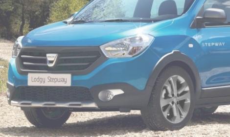Dacia LODGY à partir de 6€/jour* seulement !