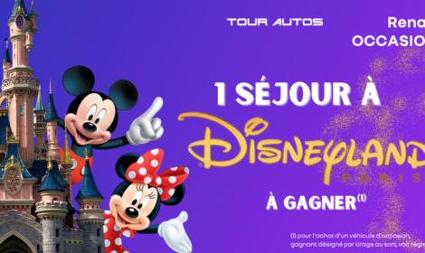 Un séjour à Disneyland Paris à gagner*!